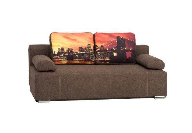 Canapea extensibila Fado Brown