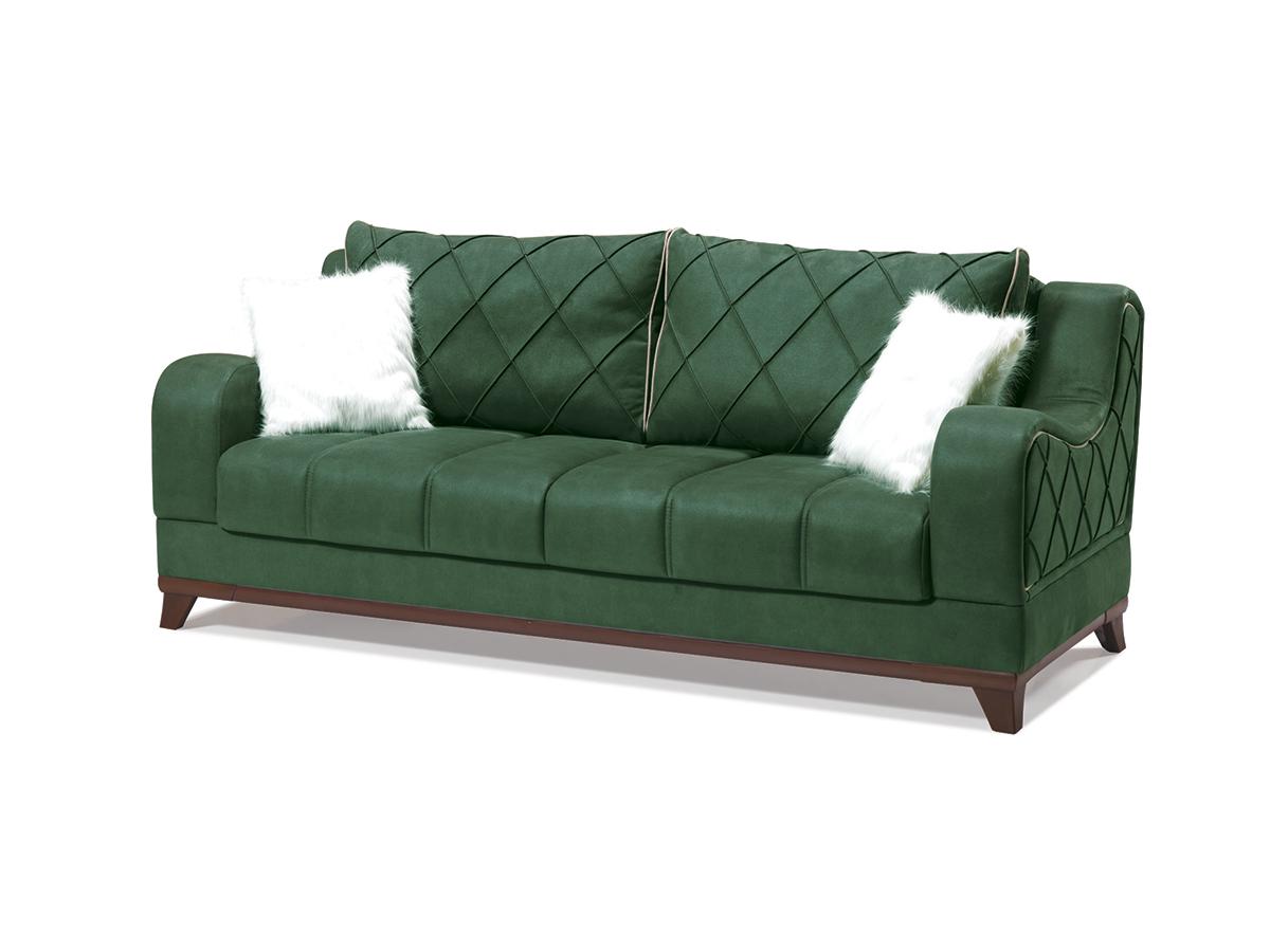 Canapea Extensibila Woody Verde K3