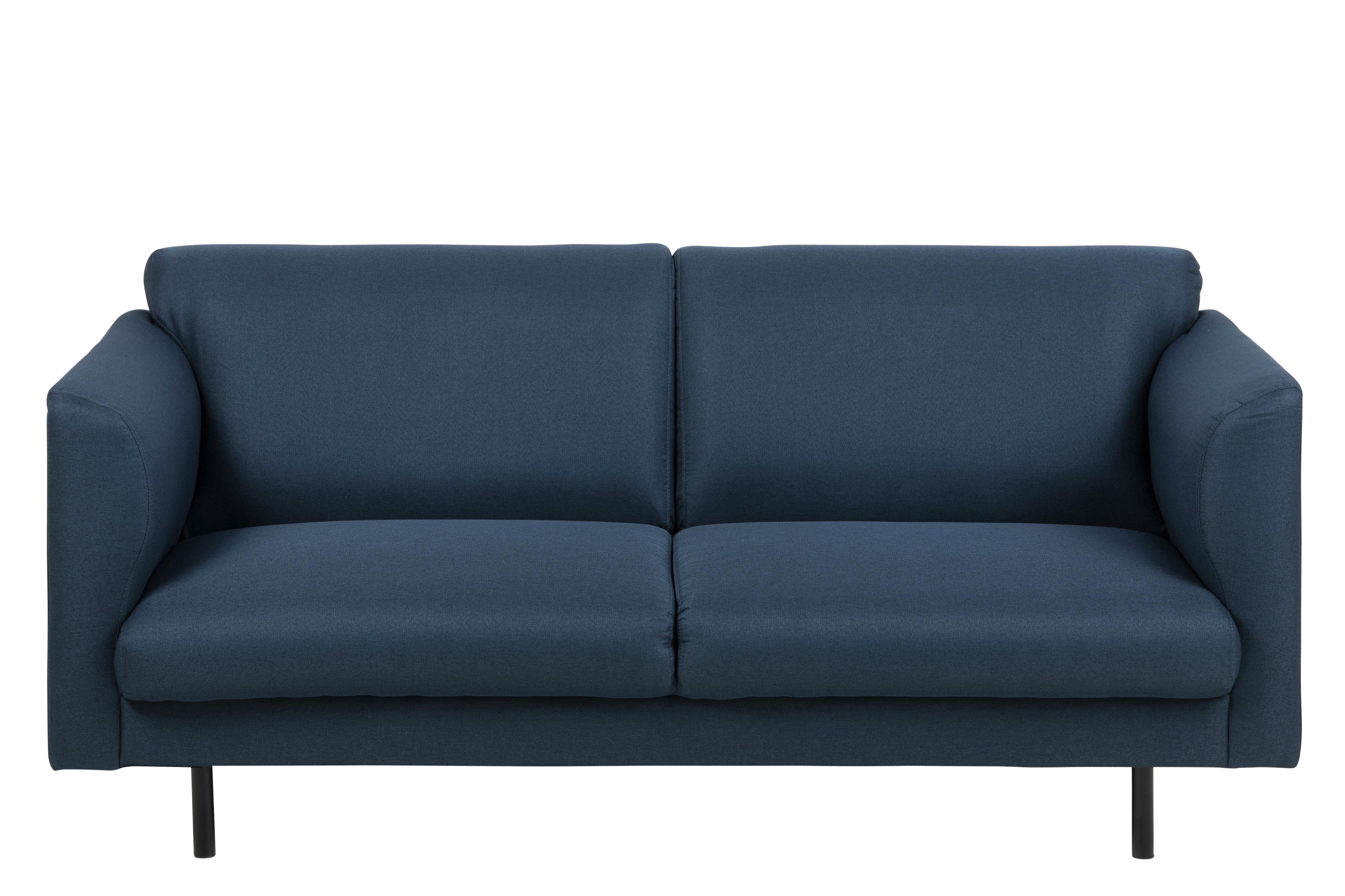 Canapea 2 locuri Conley Dark Blue