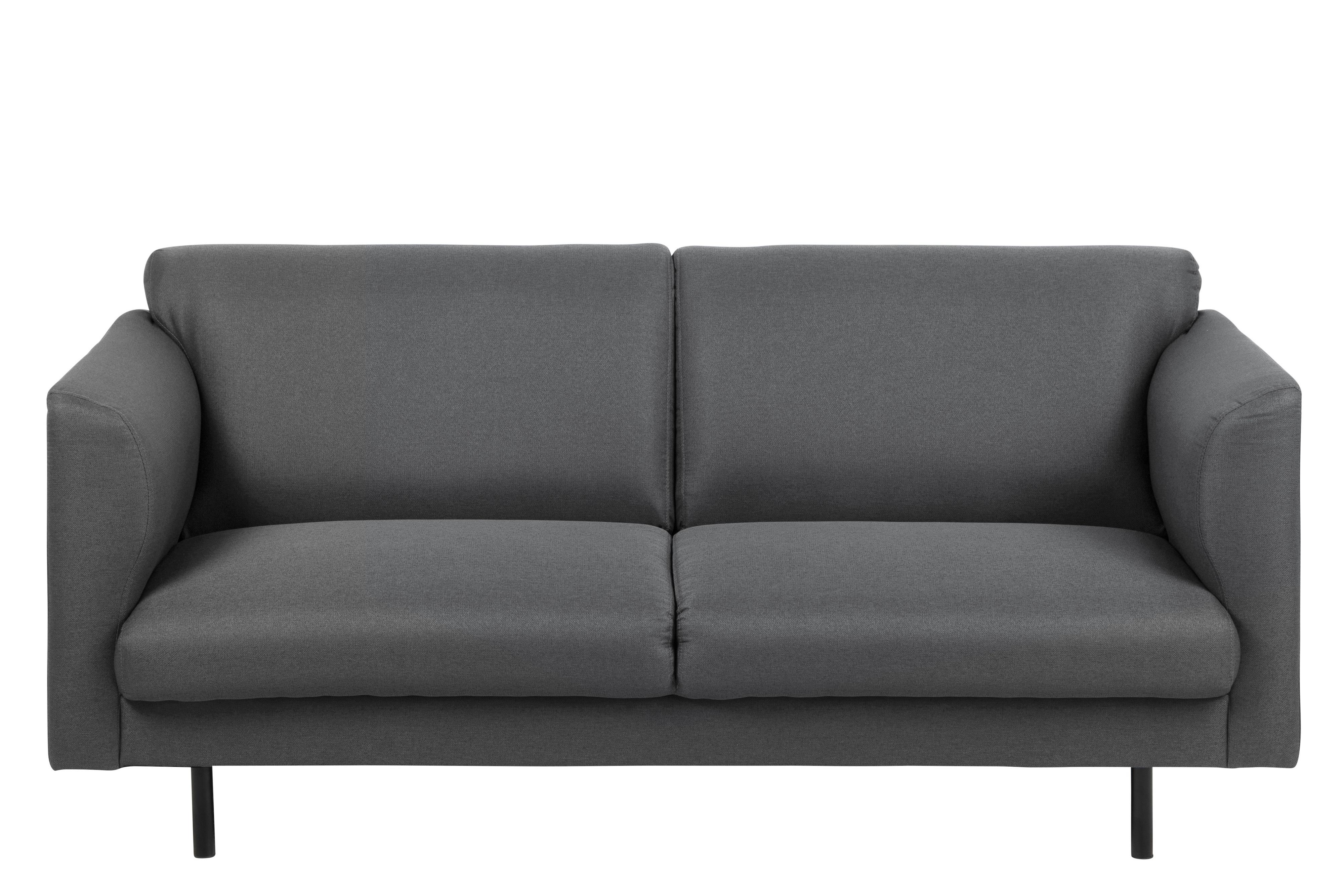 Canapea 2 locuri Conley Dark Grey