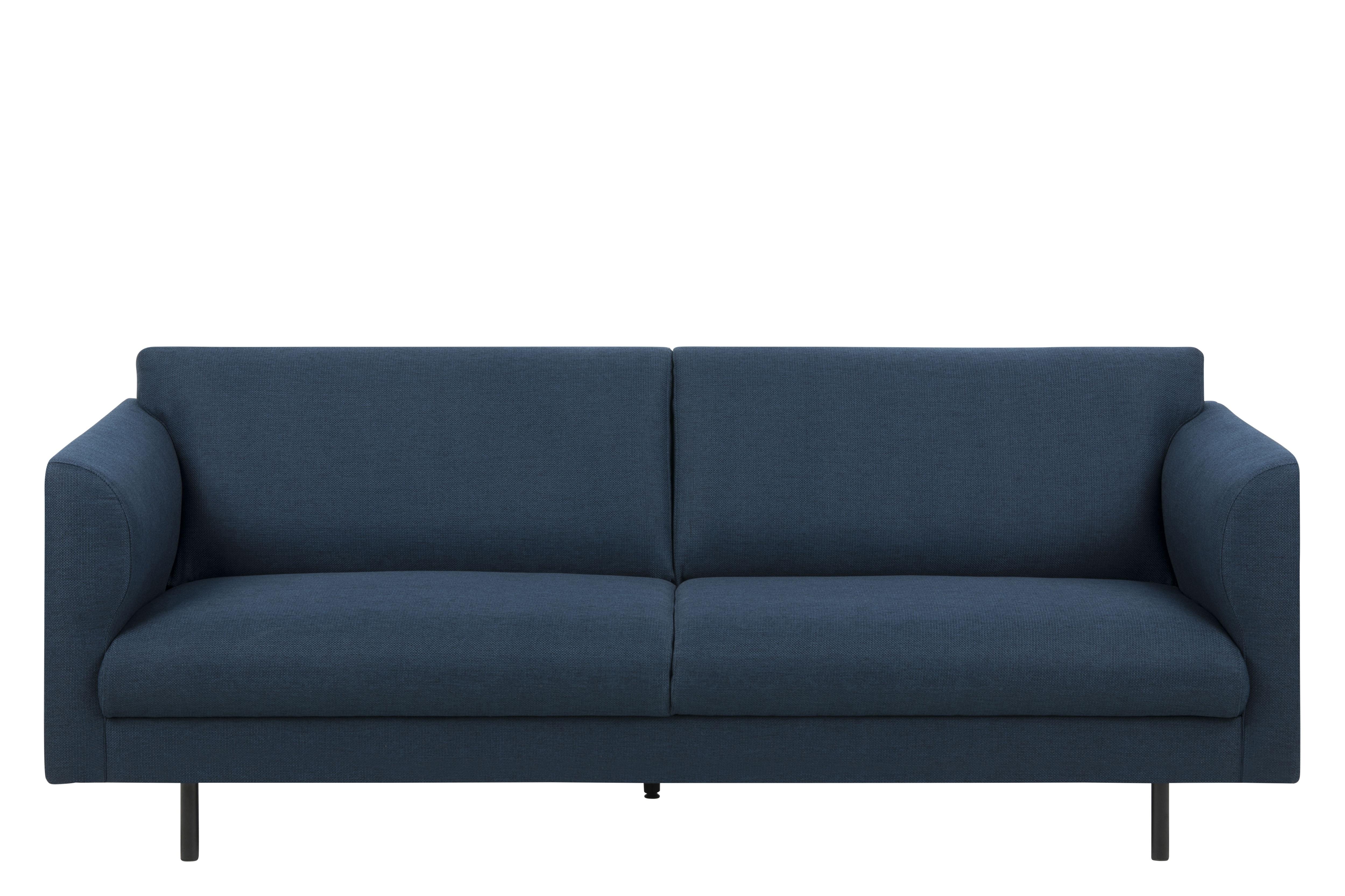 Canapea 3 locuri Conley Dark Blue