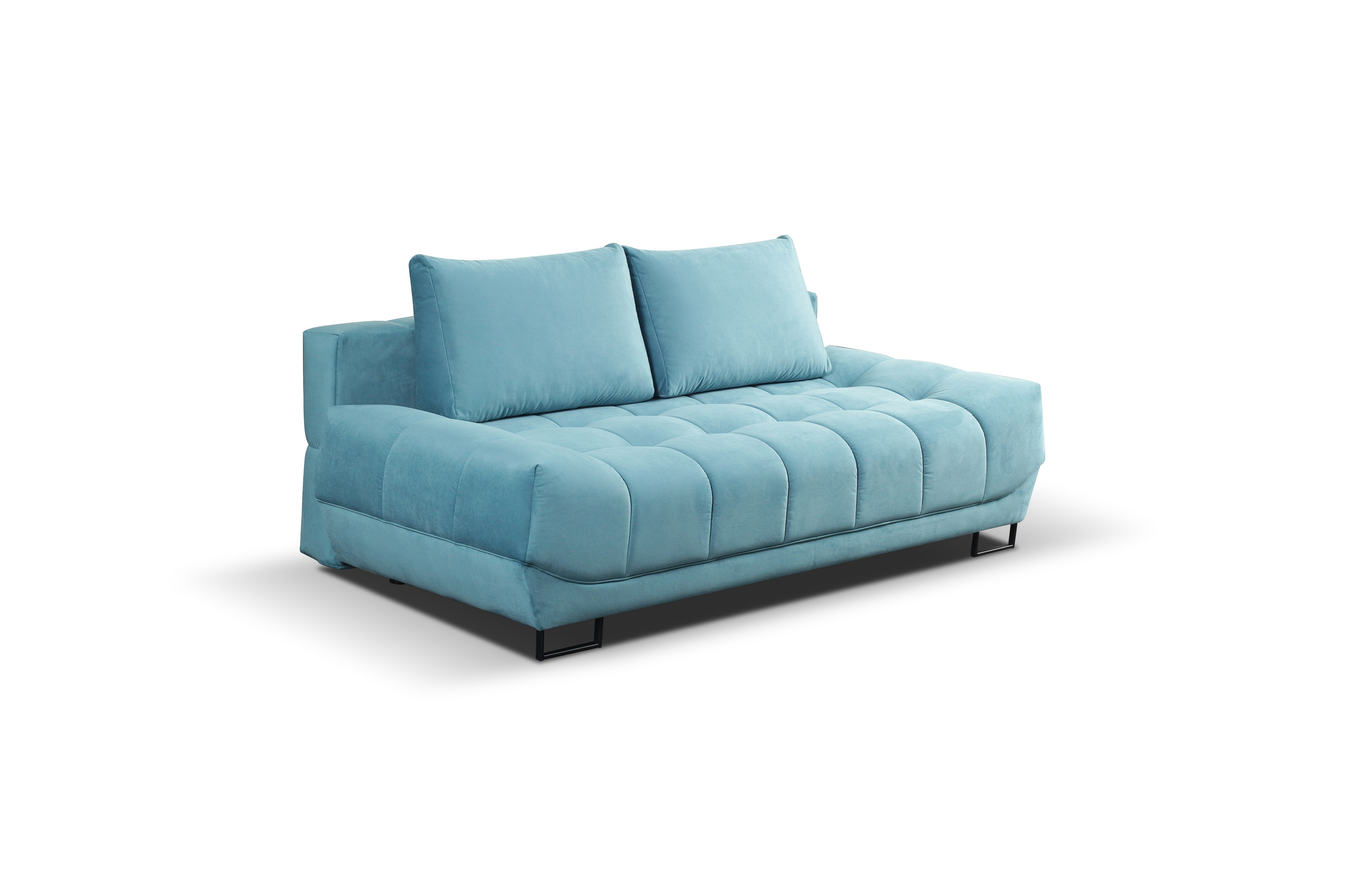 Canapea extensibila cu lada de depozitare, 3 locuri Venice, l218xA112xH71 cm imagine