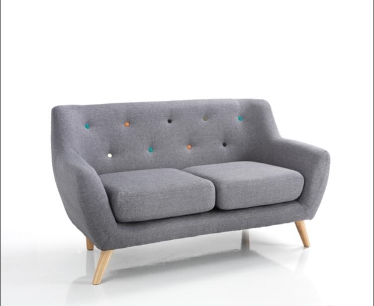 Canapea fixa 2 locuri John Grey