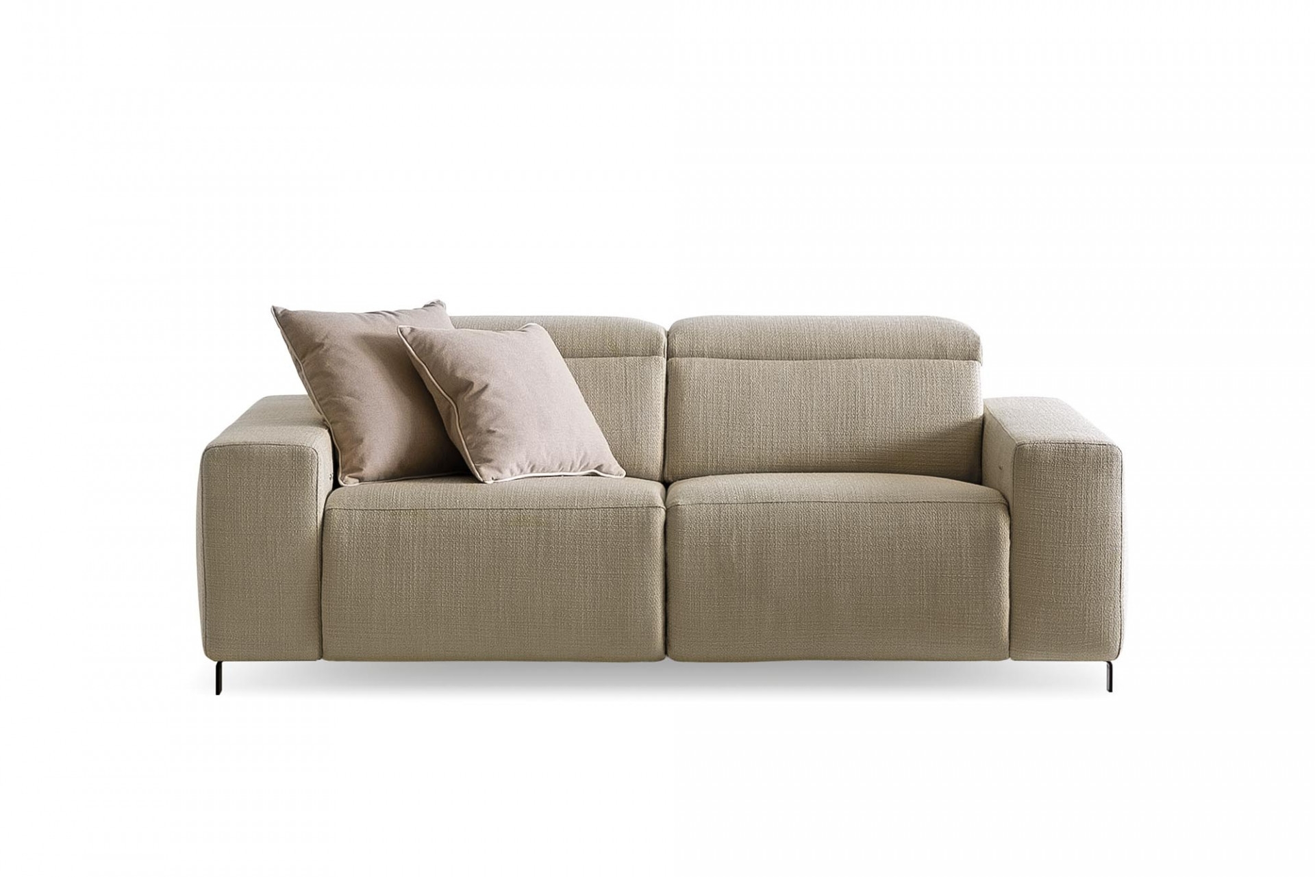 Canapea fixa 2 locuri, mecanism Relax, Sebastian Bej, l186xA106xH75 cm