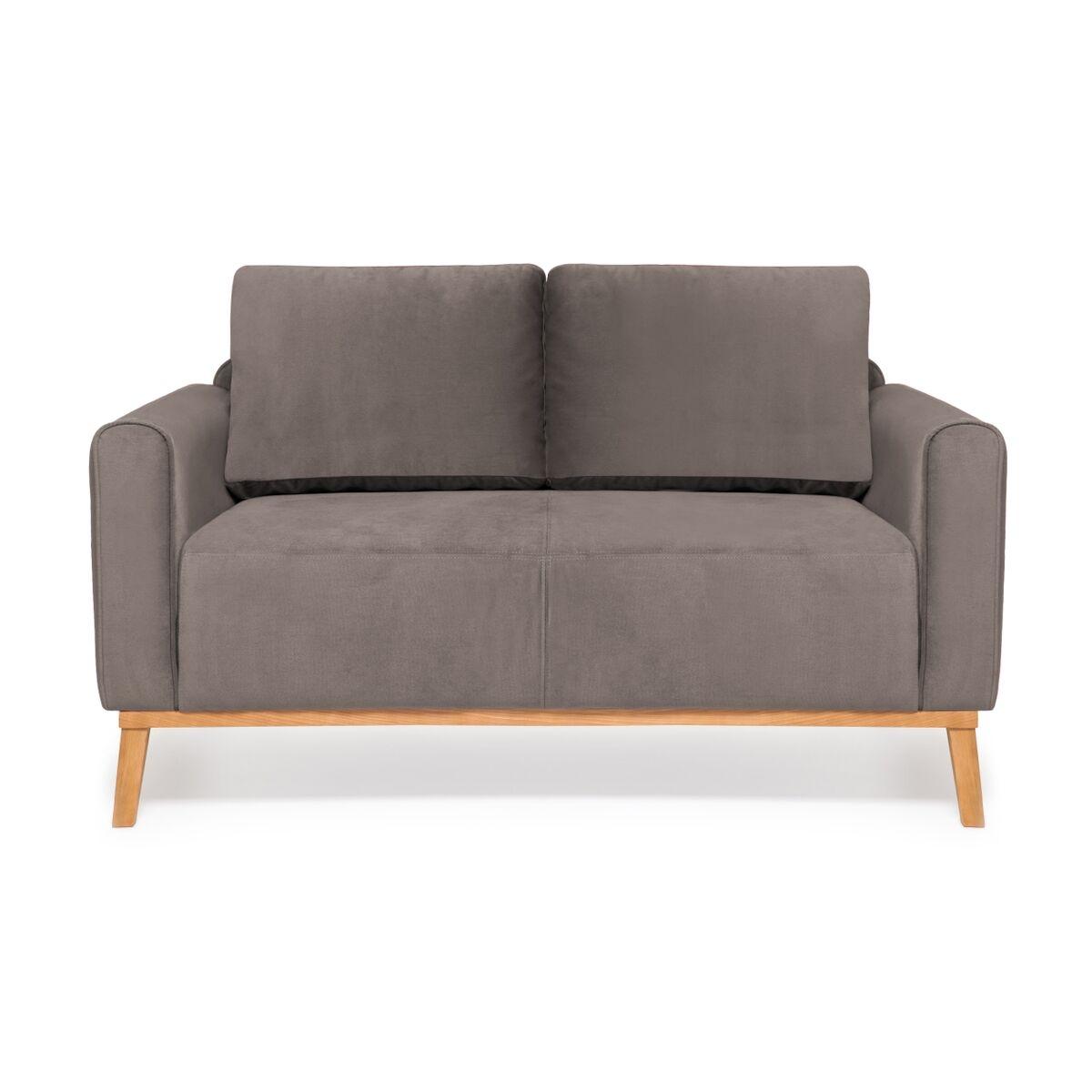 Canapea Fixa 2 locuri Milton Trend Grey