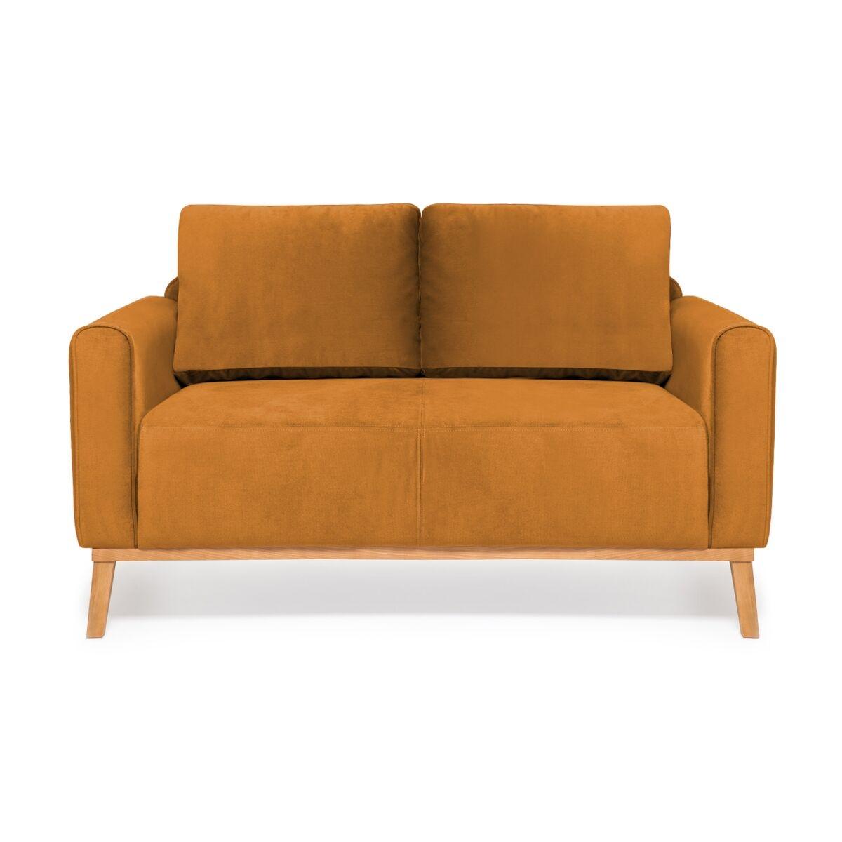 Canapea Fixa 2 locuri Milton Trend Mustard