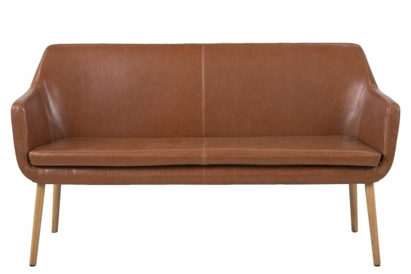 Canapea fixa Nora Brandy Vintage