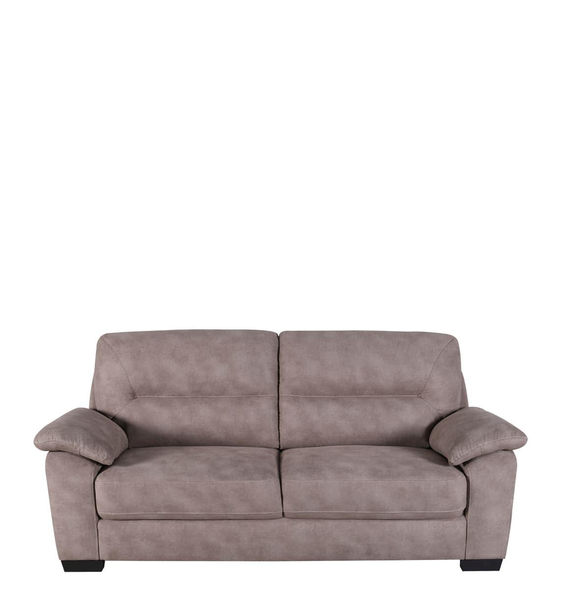 Canapea fixa tapitata cu stofa, 3 locuri, Albert Maro, l200xA92xH92 cm somproduct.ro