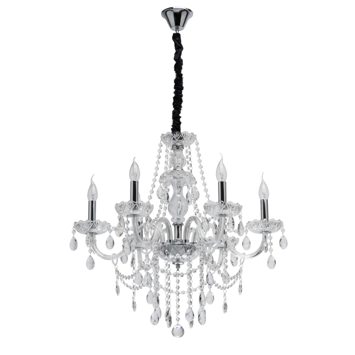 Candelabru Light Crystal Adele Imagine