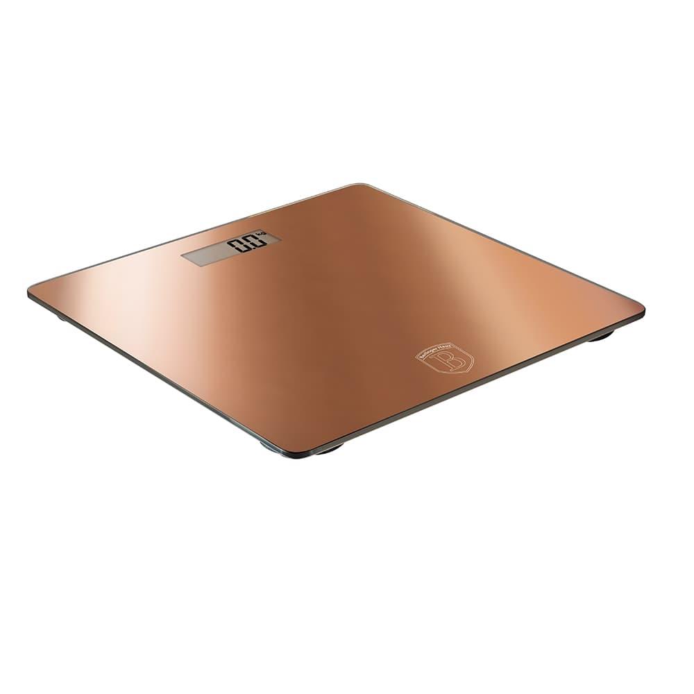 Cantar de baie digital, 150 kg, Metallic Line Rose Gold