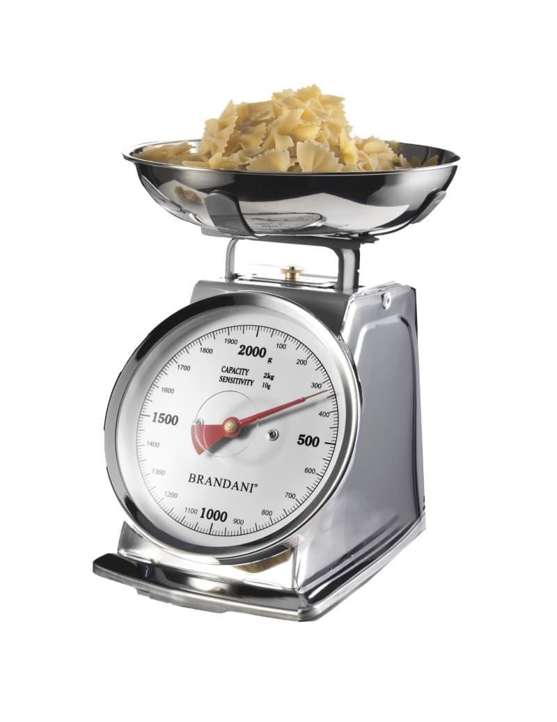 Cantar de bucatarie mecanic, 2 kg, Balance Crom somproduct.ro