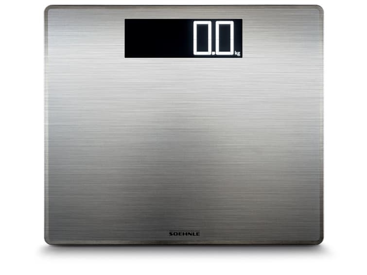 Cantar de baie digital, 180 kg, Style Sense Compact 300, Argintiu imagine