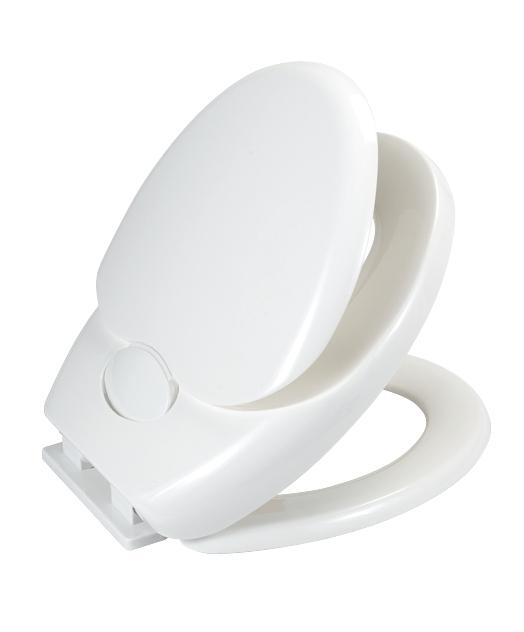 Capac toaleta cu reductie copii, din termoplastic, Family Alb, l35,5xA38 cm imagine