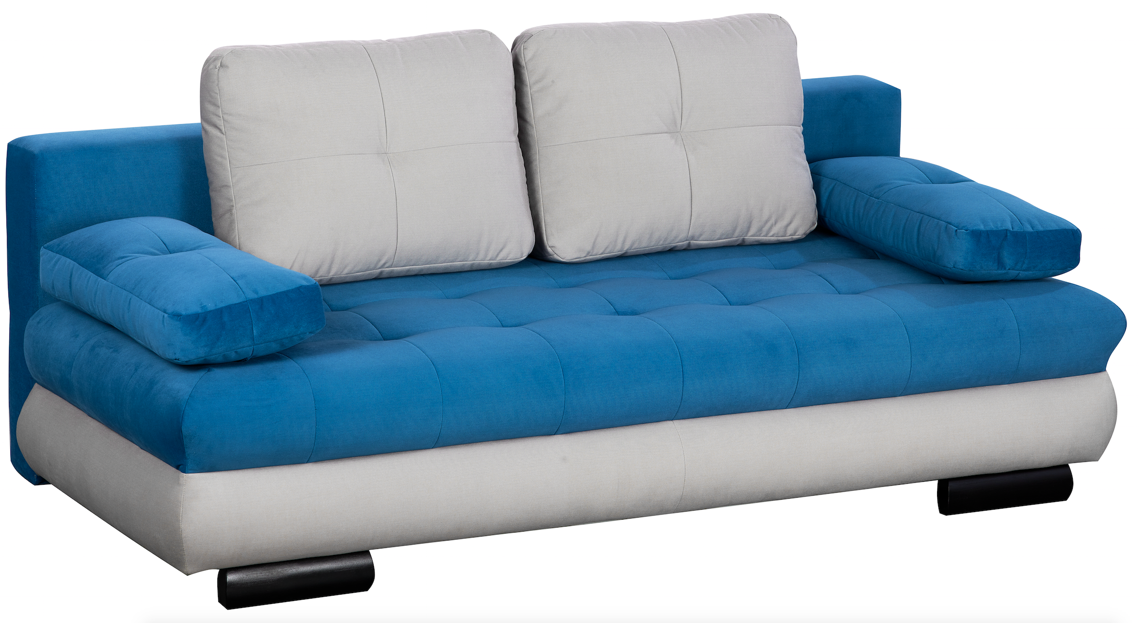 Canapea extensibila 3 locuri Luore Light Blue