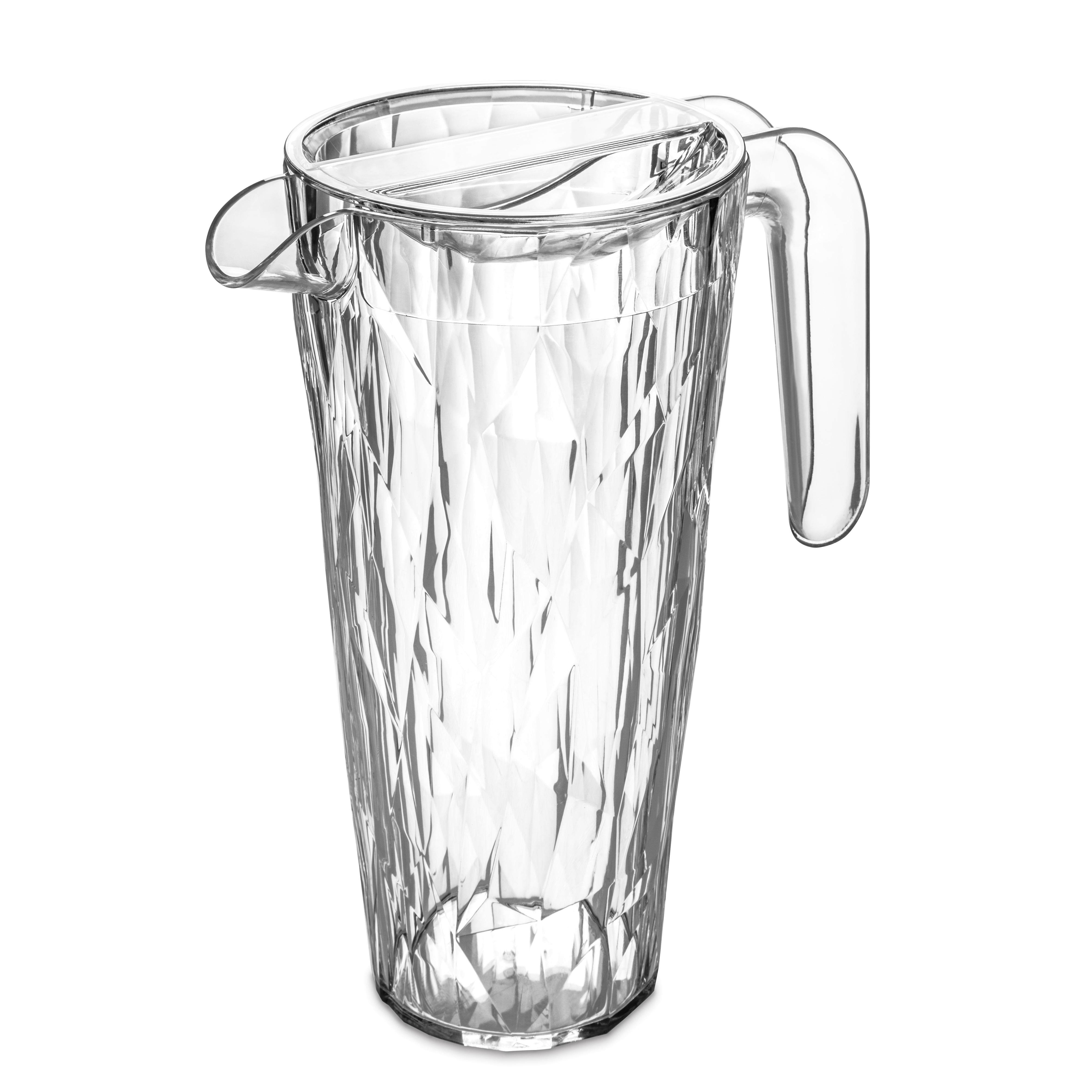 Carafa cu capac pentru apa Unbreakable Superglas Clear, Club, 1,5L somproduct.ro