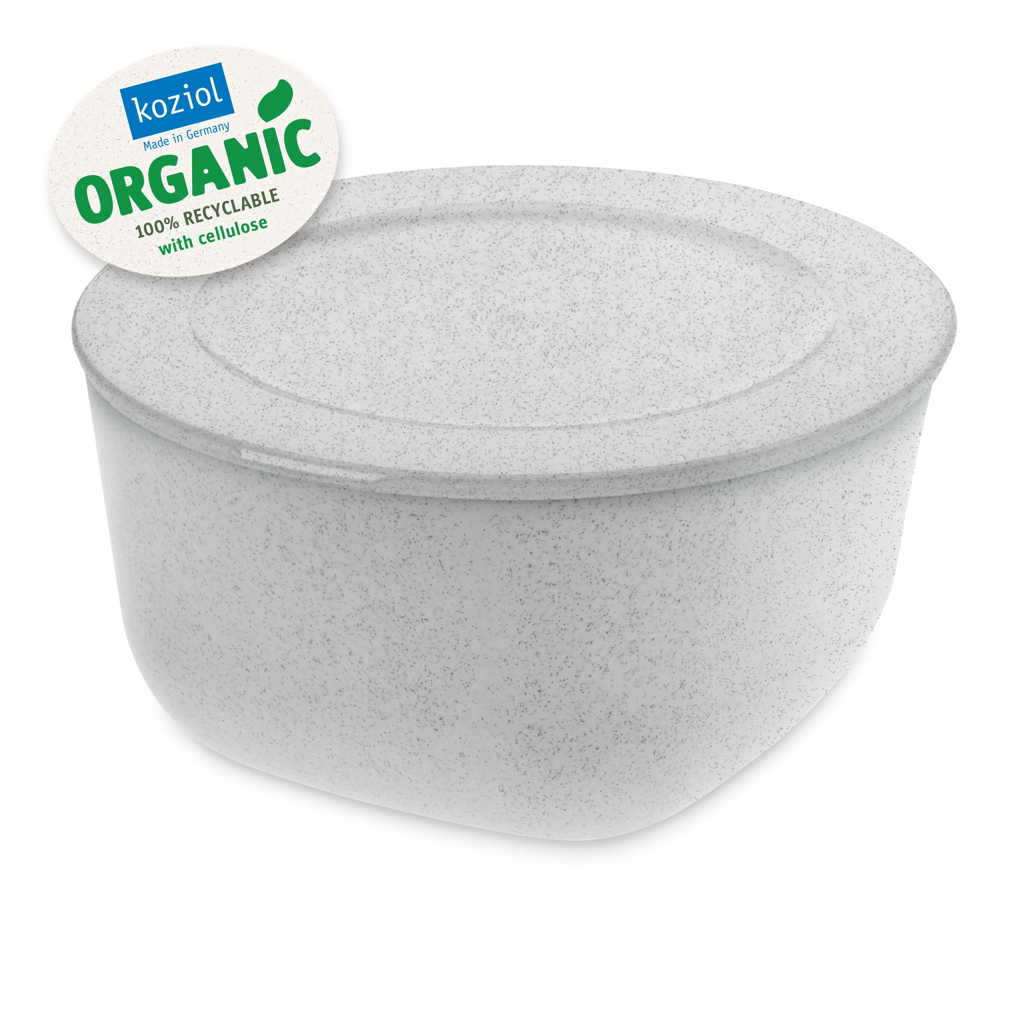 Caserola cu capac, 100% Reciclabil, Connect L Organic Gri, 2 L imagine