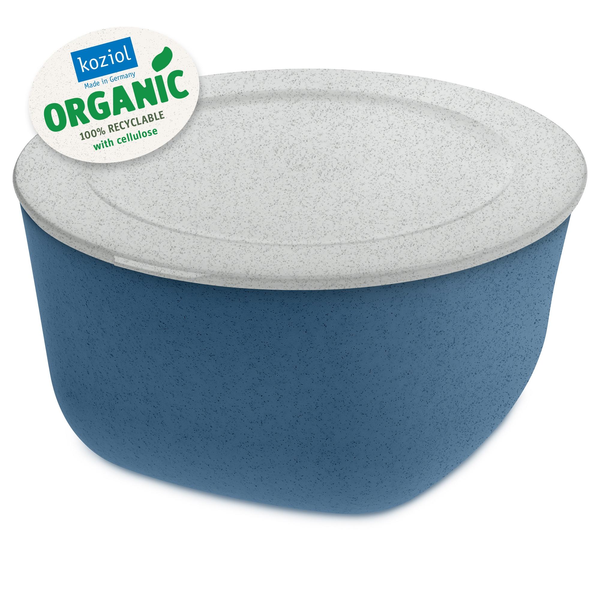 Caserola cu capac, 100% Reciclabil, Connect XL Organic Albastru, 4 L imagine