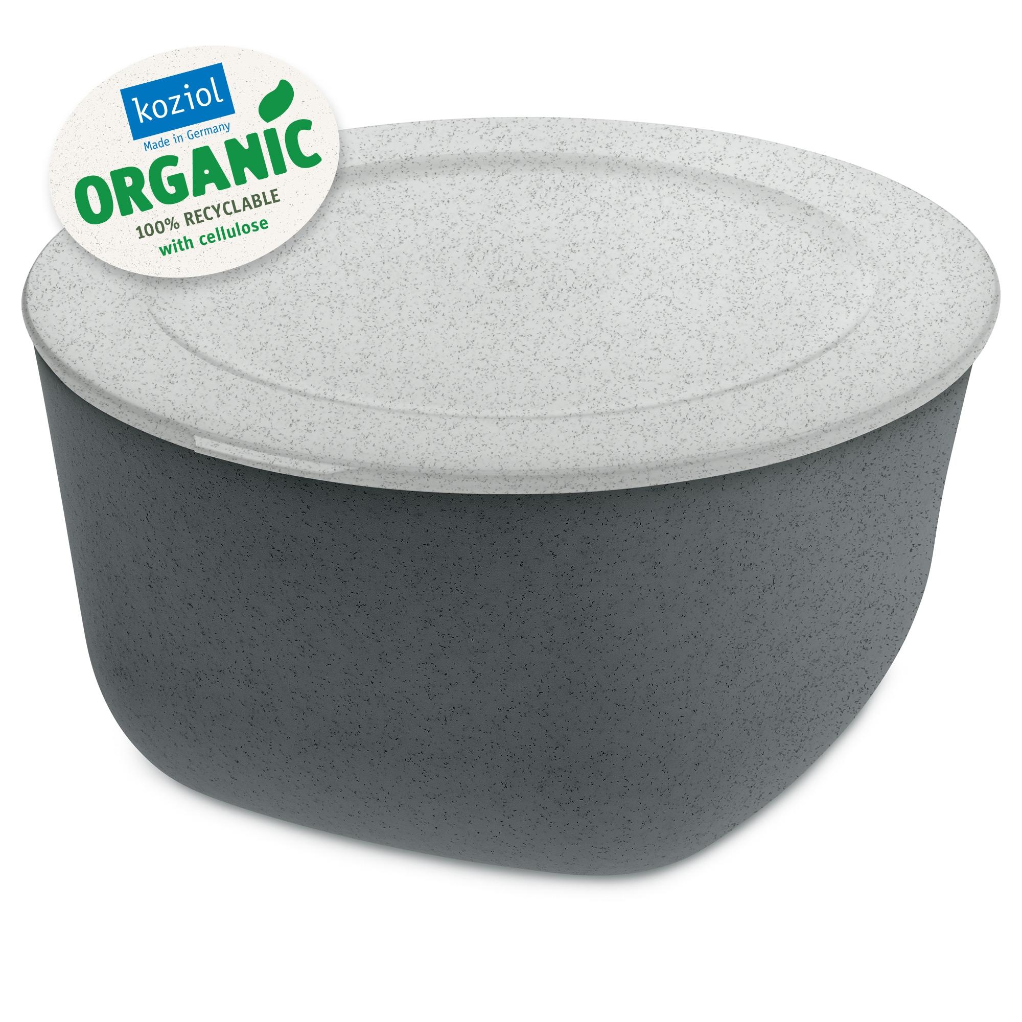 Caserola cu capac, 100% Reciclabil, Connect XL Organic Gri inchis, 4 L imagine