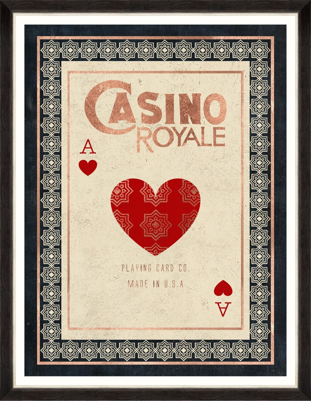 Tablou Framed Art Casino Royale