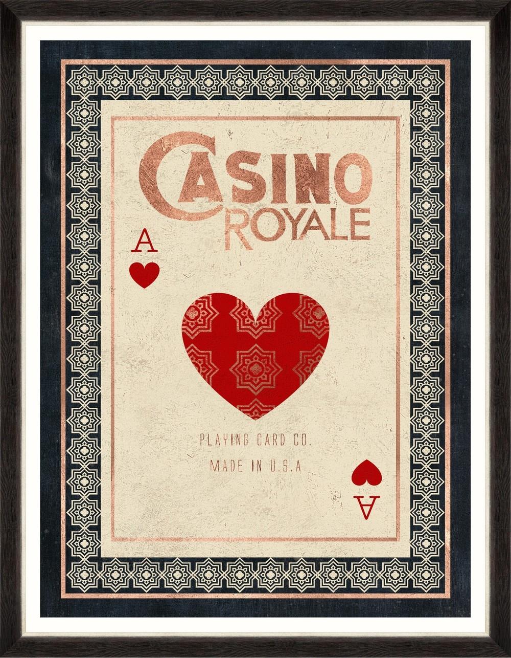 Tablou Framed Art Casino Royale imagine