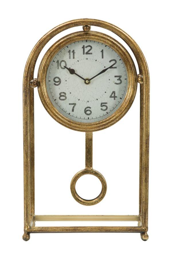 Ceas de masa Glam Pendol Gold l247xA125xH435 cm