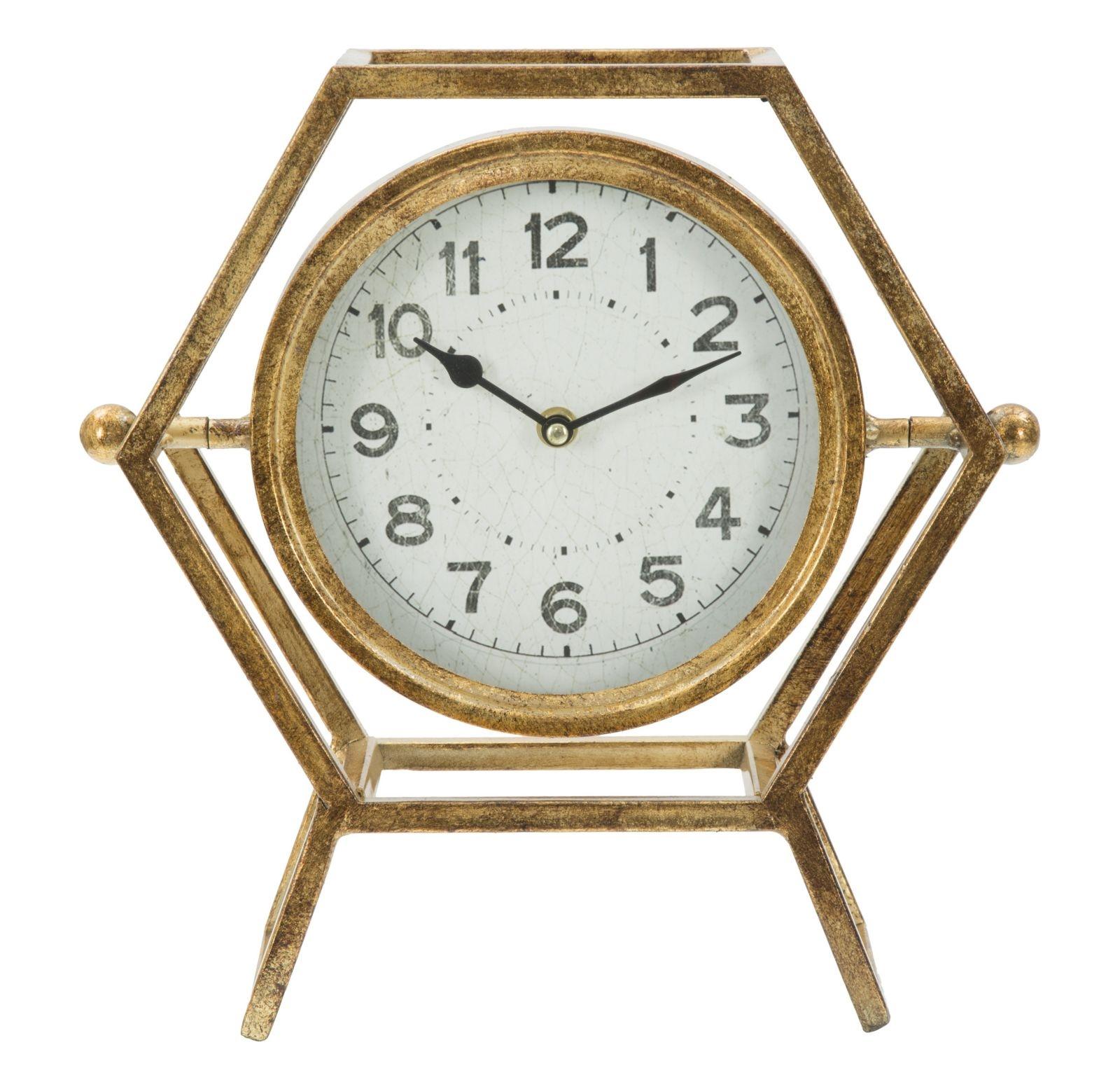 Ceas de masa Glam Retro Auriu 31 x 315 cm