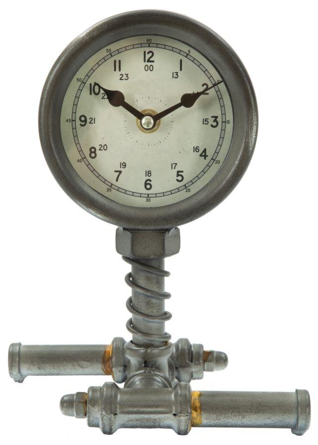 Ceas de masa Industrial Simple Grey l175xA13xH225 cm