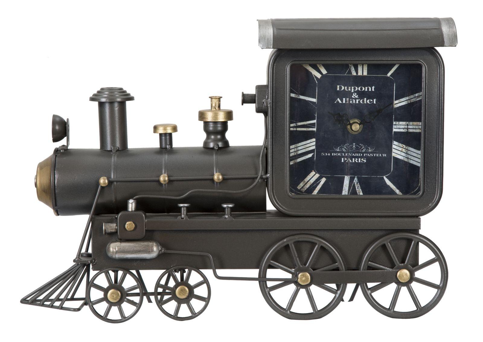 Ceas de masa Locomotive Grafit 38 x 26 cm