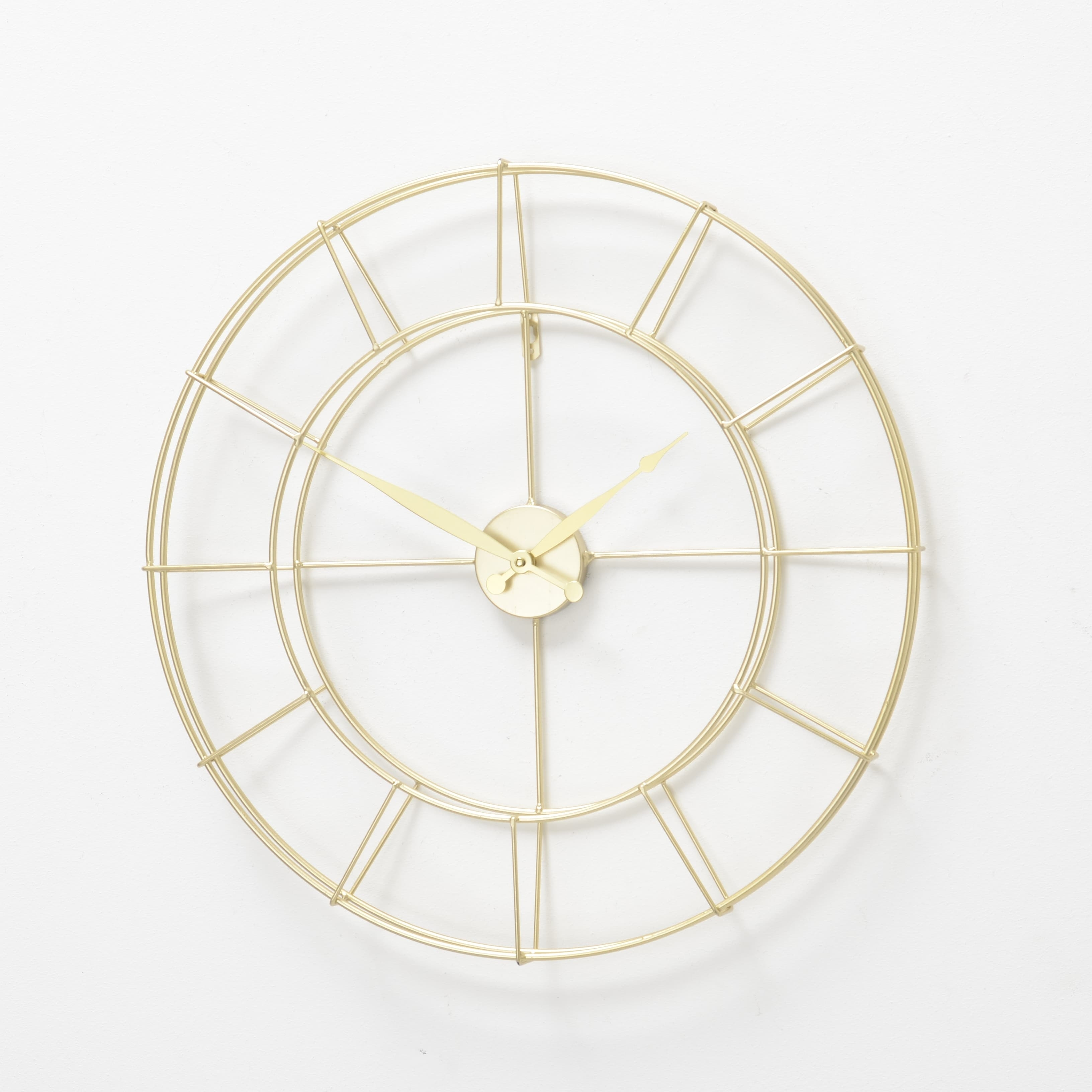 Ceas de perete Alisha Auriu, Ø57 cm poza