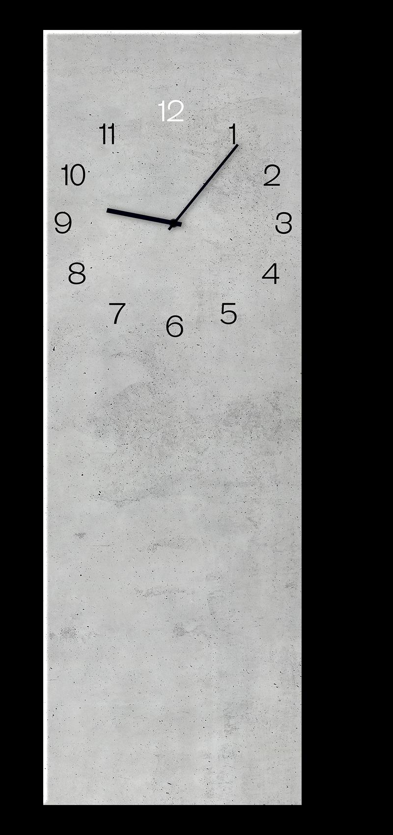 Ceas de perete Concrete GC002 20 x 60 cm