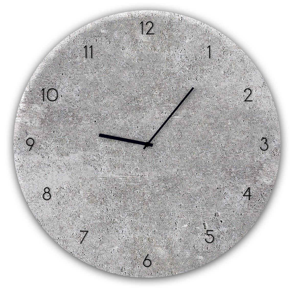 Ceas de perete Concrete GC004 O 30 cm