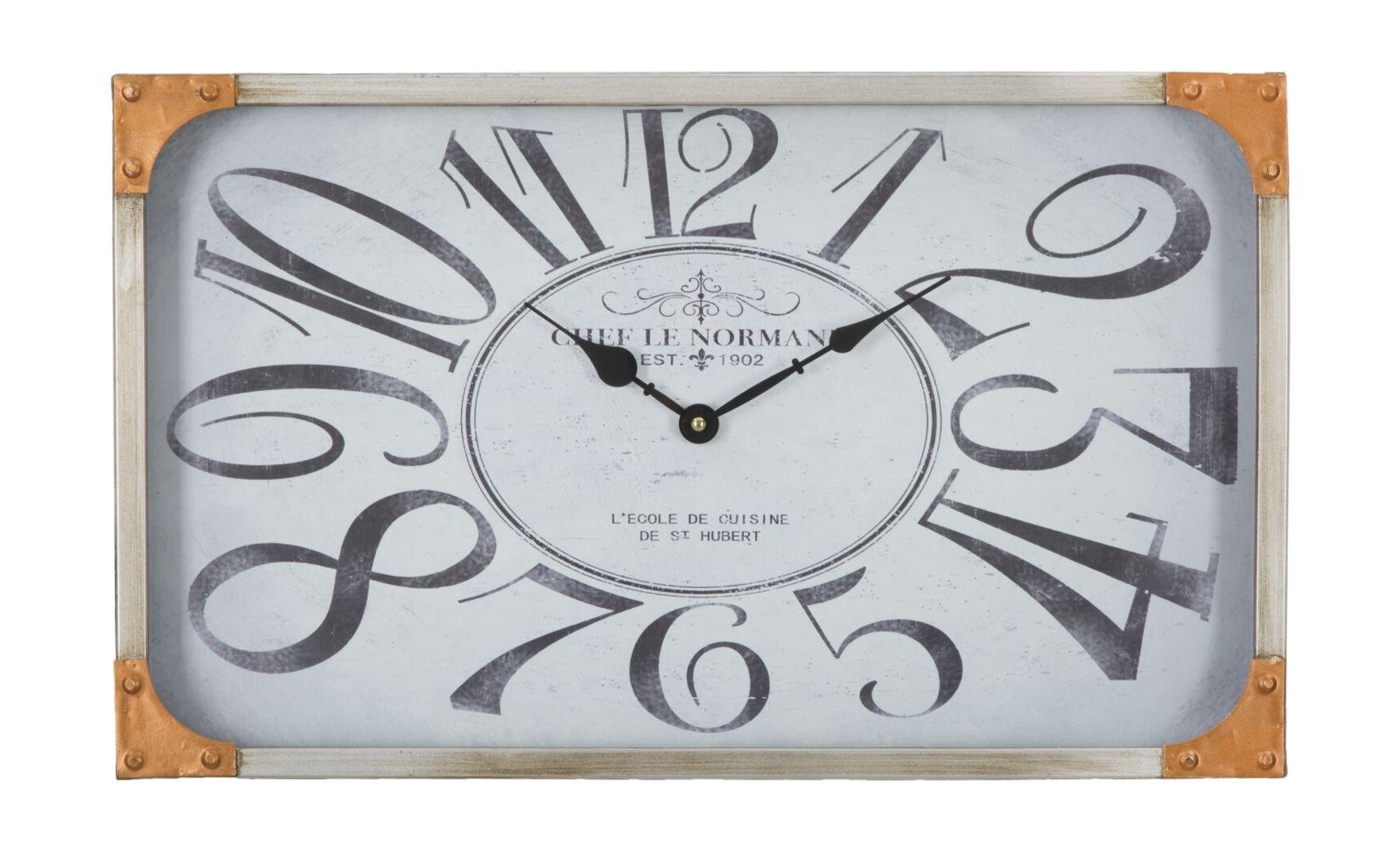 Ceas de perete Cooper Natural 50 x 30 cm