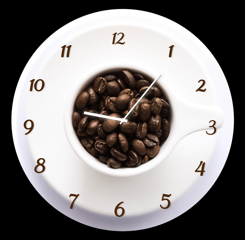 Ceas de perete Cup BH004 O 30 cm