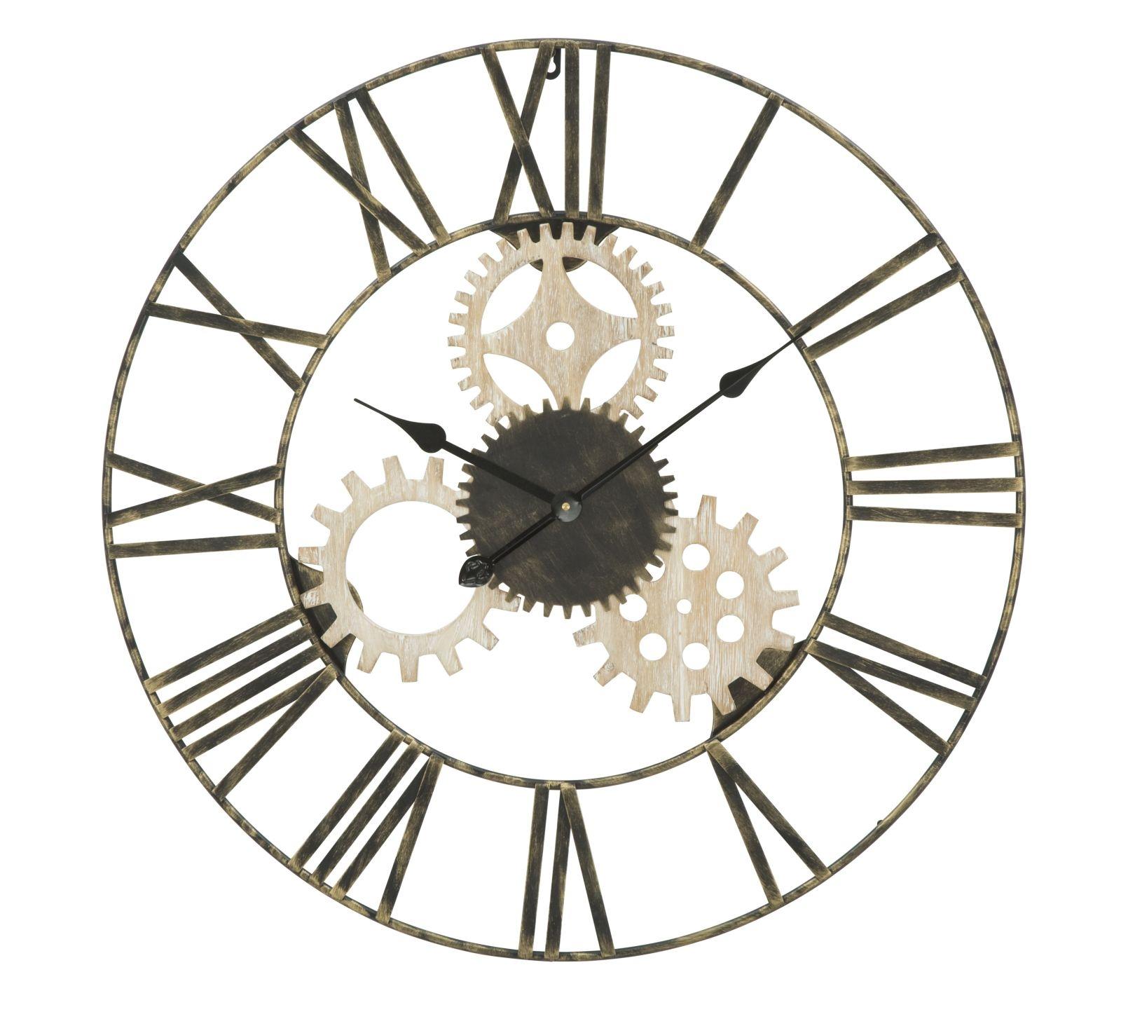 Ceas de perete Gear Round O 70 cm