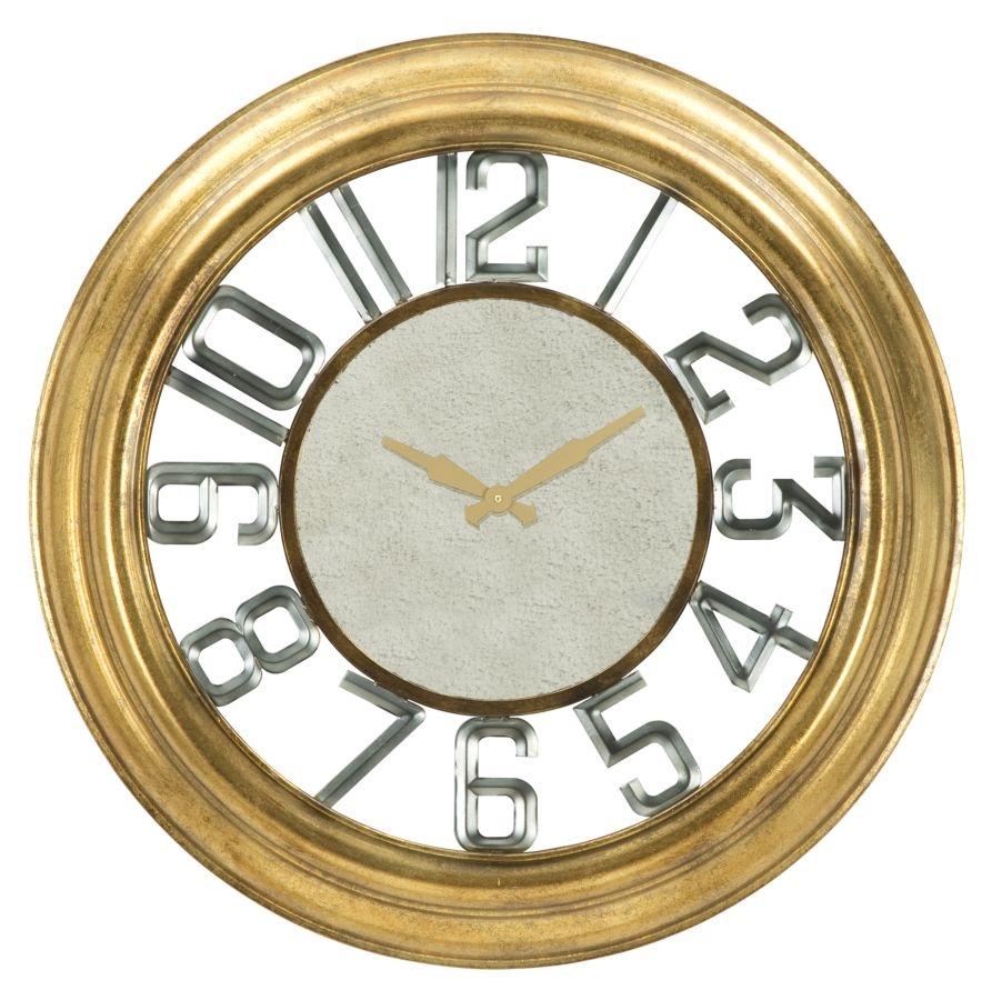Ceas de perete Glam Ver Gold O77xH9 cm