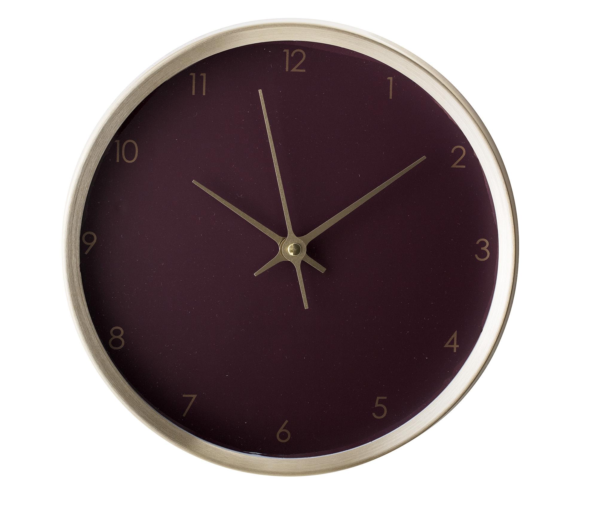 Ceas de perete Gold Aluminum Round O 25 cm