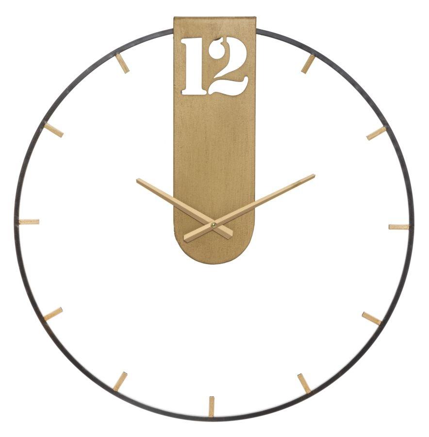 Ceas de perete Goldy Auriu, Ø60 cm poza