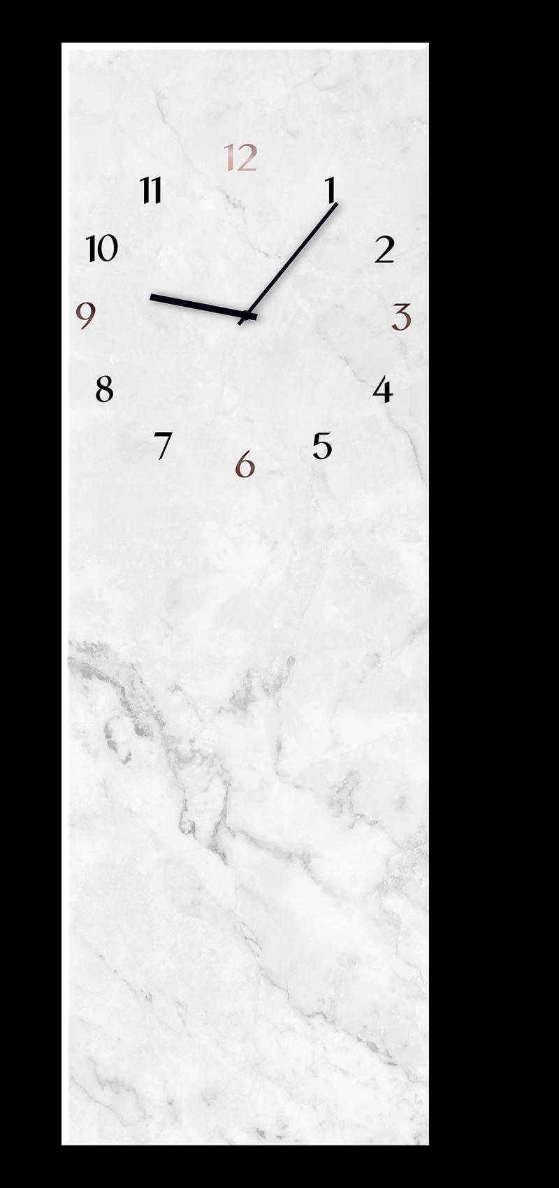 Ceas de perete Marble GC014 20 x 60 cm