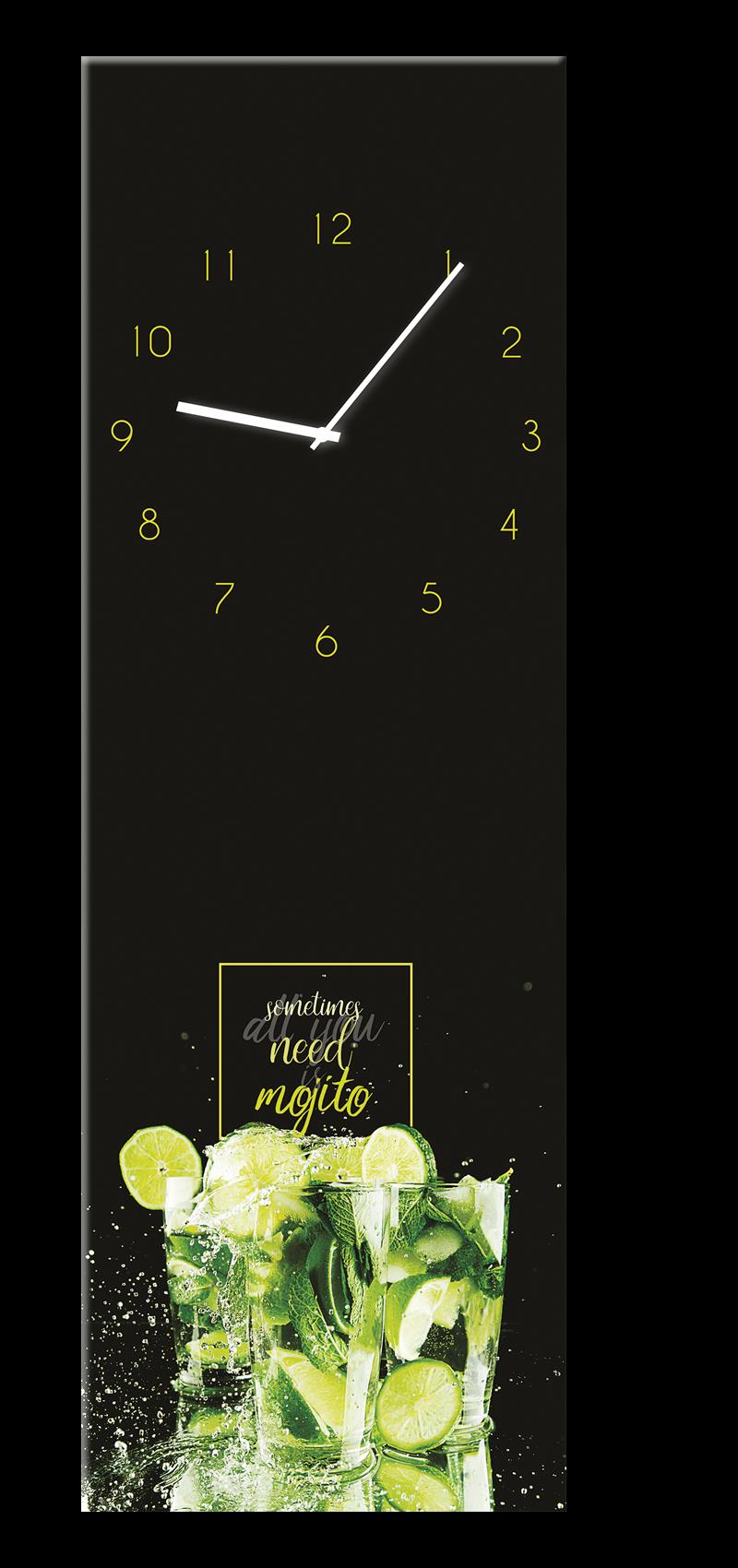 Ceas de perete Mojito GC033 20 x 60 cm