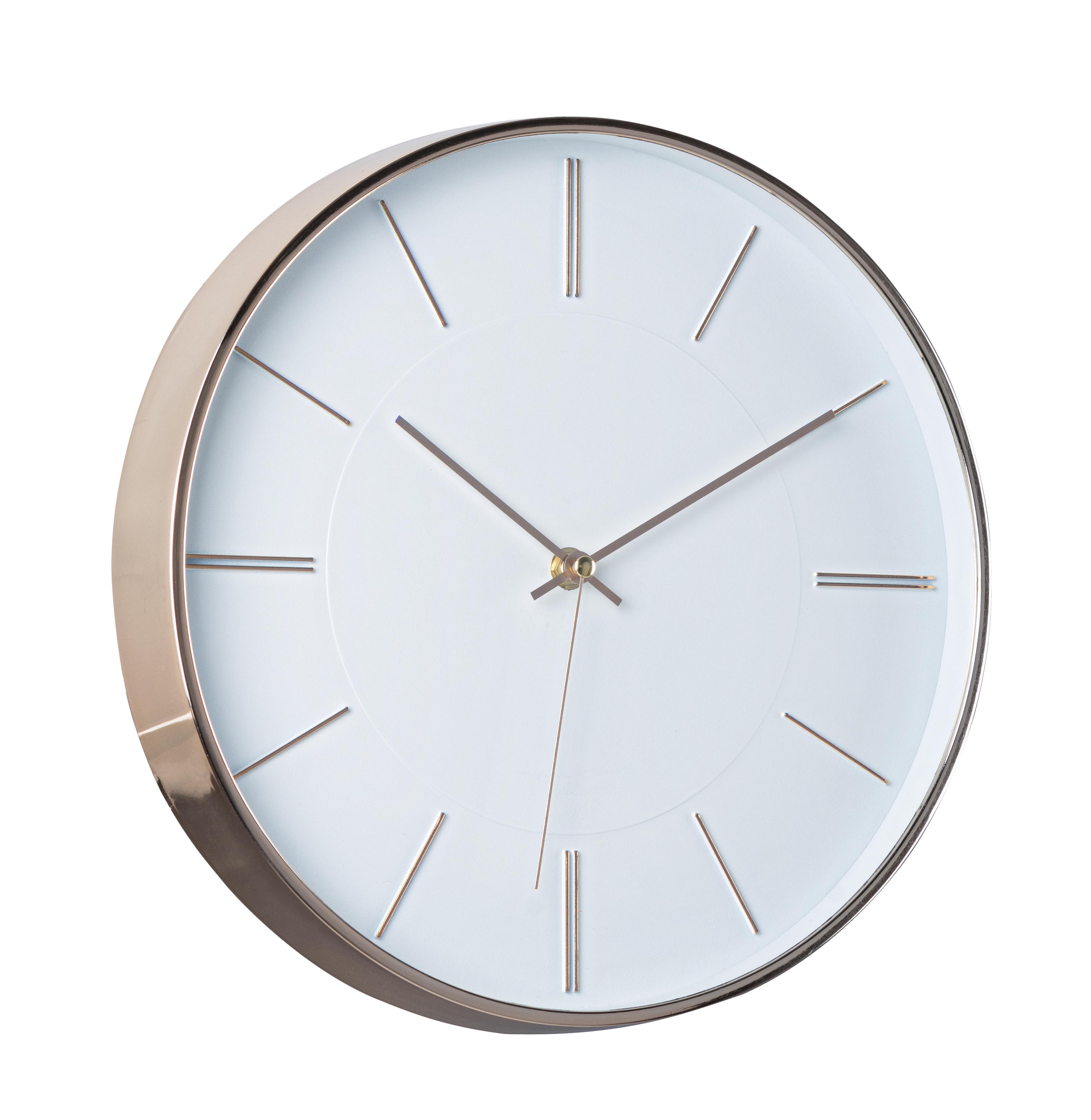 Ceas de perete Olinda Auriu, Ø30 cm