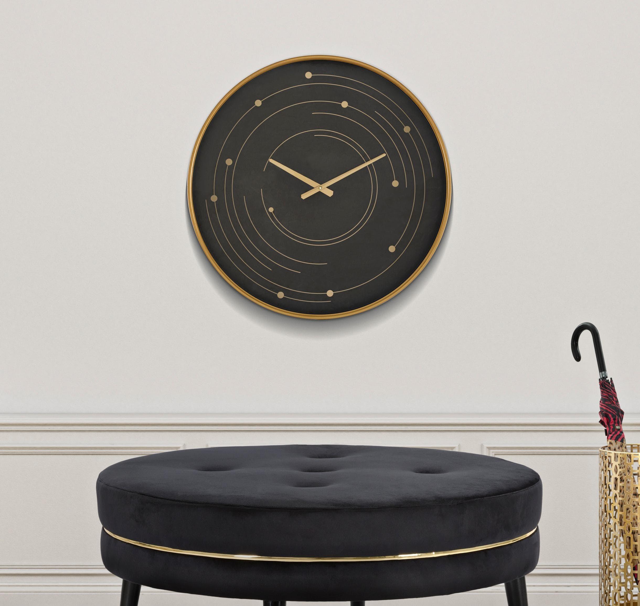 Ceas de perete Plix Multicolor, Ø60 cm poza