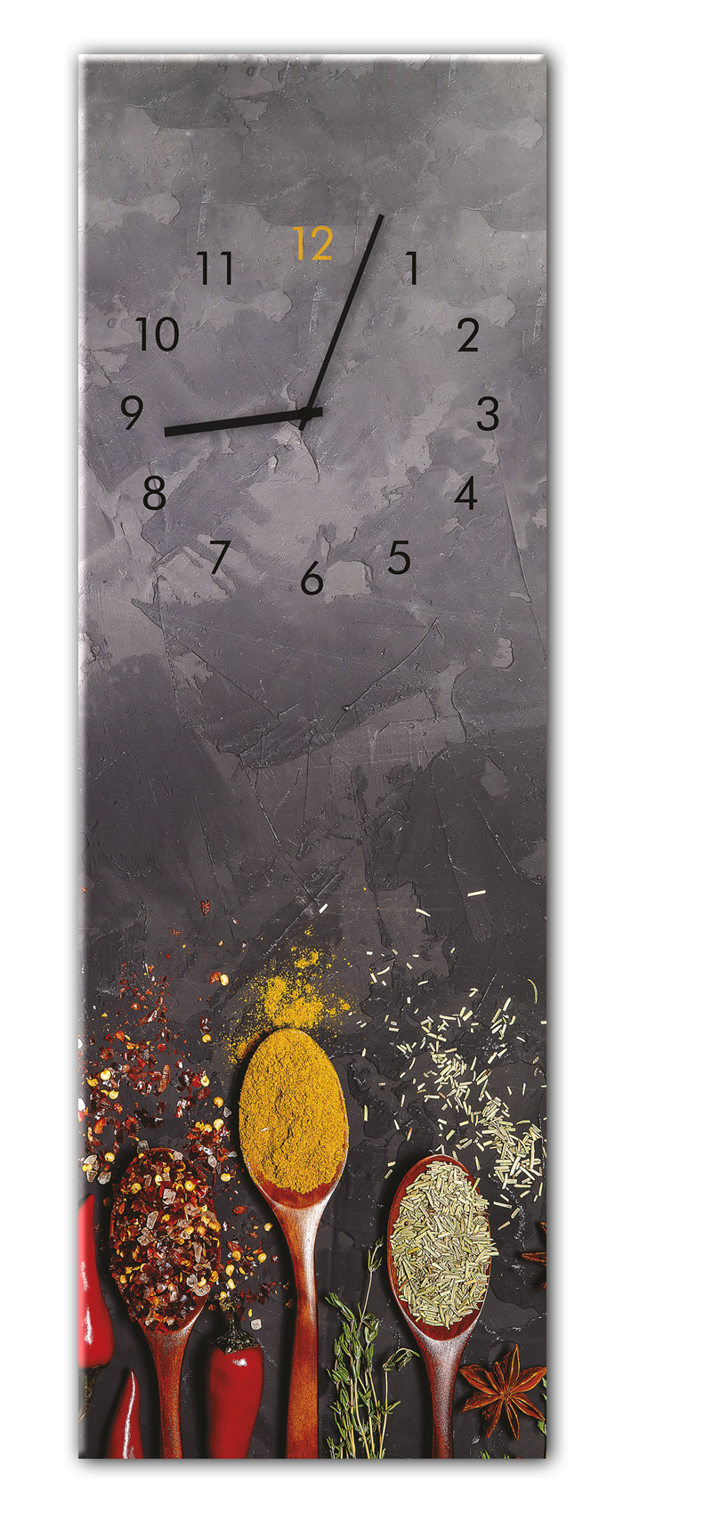 Ceas de perete Spoons GC024 20 x 60 cm