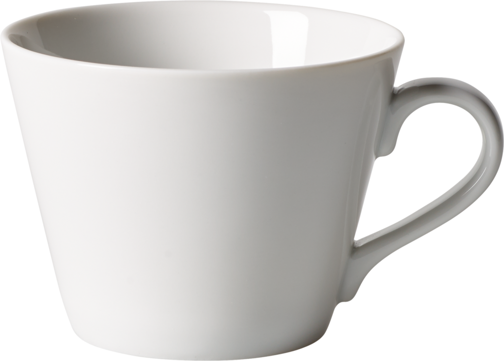 Ceasca cafea din portelan, Organic Alb, 270 ml, Villeroy & Boch