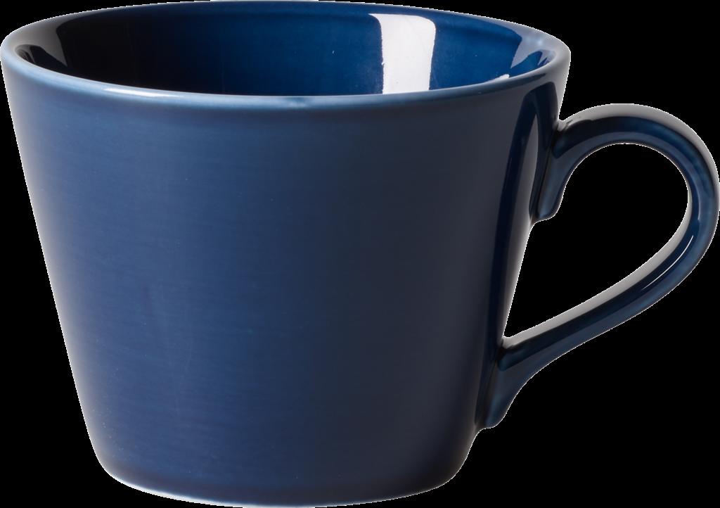 Ceasca cafea din portelan, Organic Bleumarin, 270 ml, Villeroy & Boch imagine