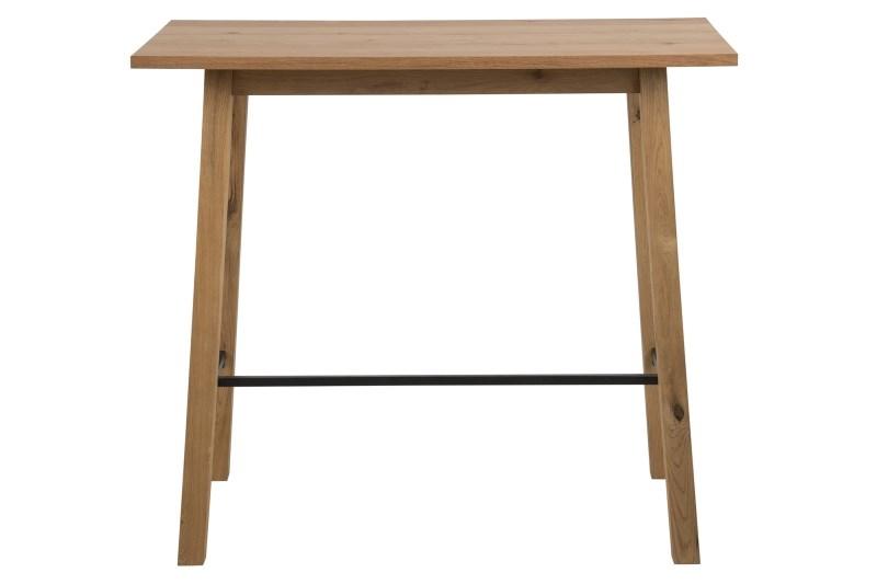 poze cu Masa de bar din lemn de stejar Chara, L117xl58xh105 cm