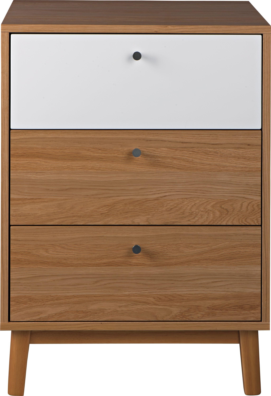 Cabinet Evie Oak / White L61xl47,5xh84,5 cm