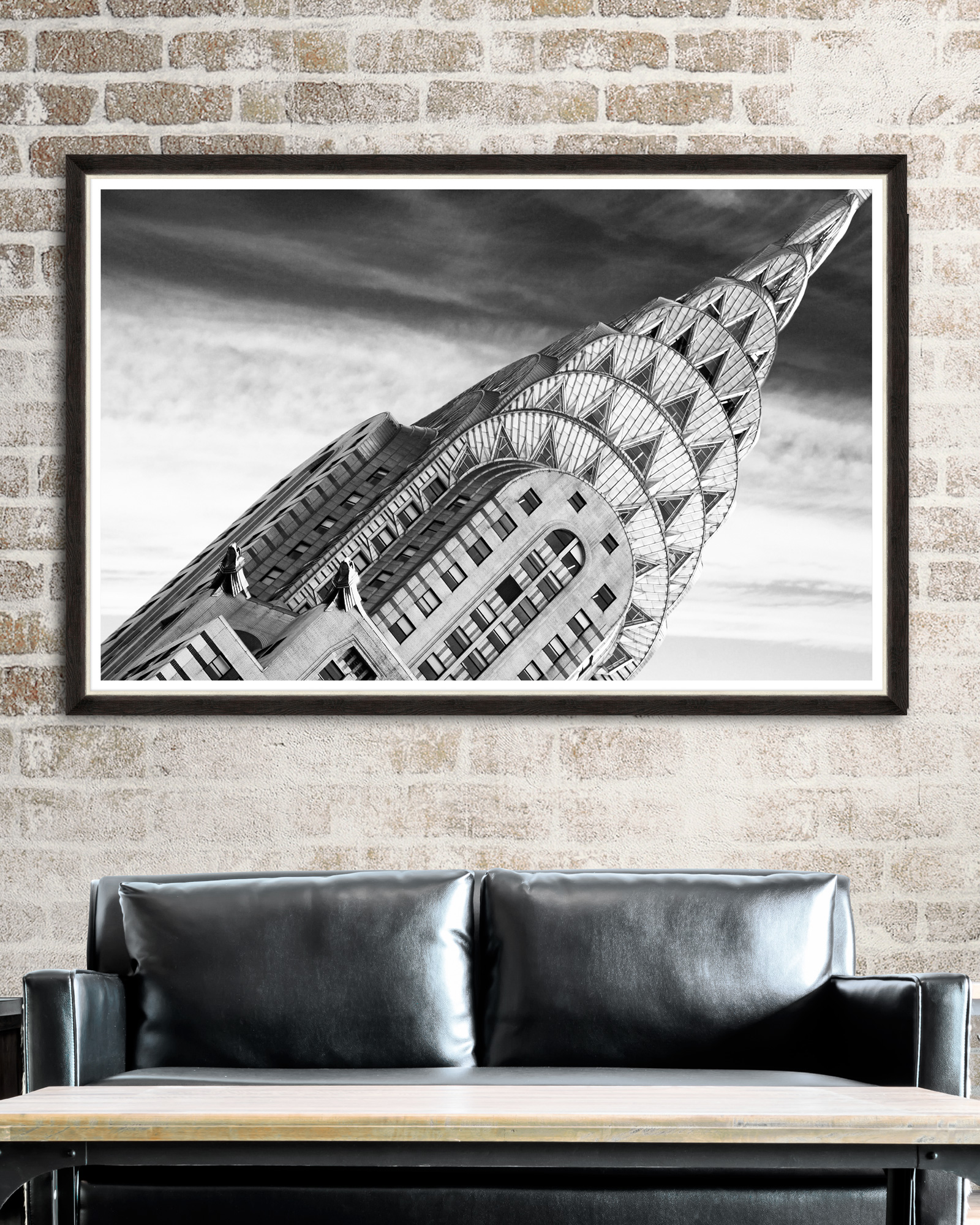 Tablou Framed Art Chrysler Building Detail