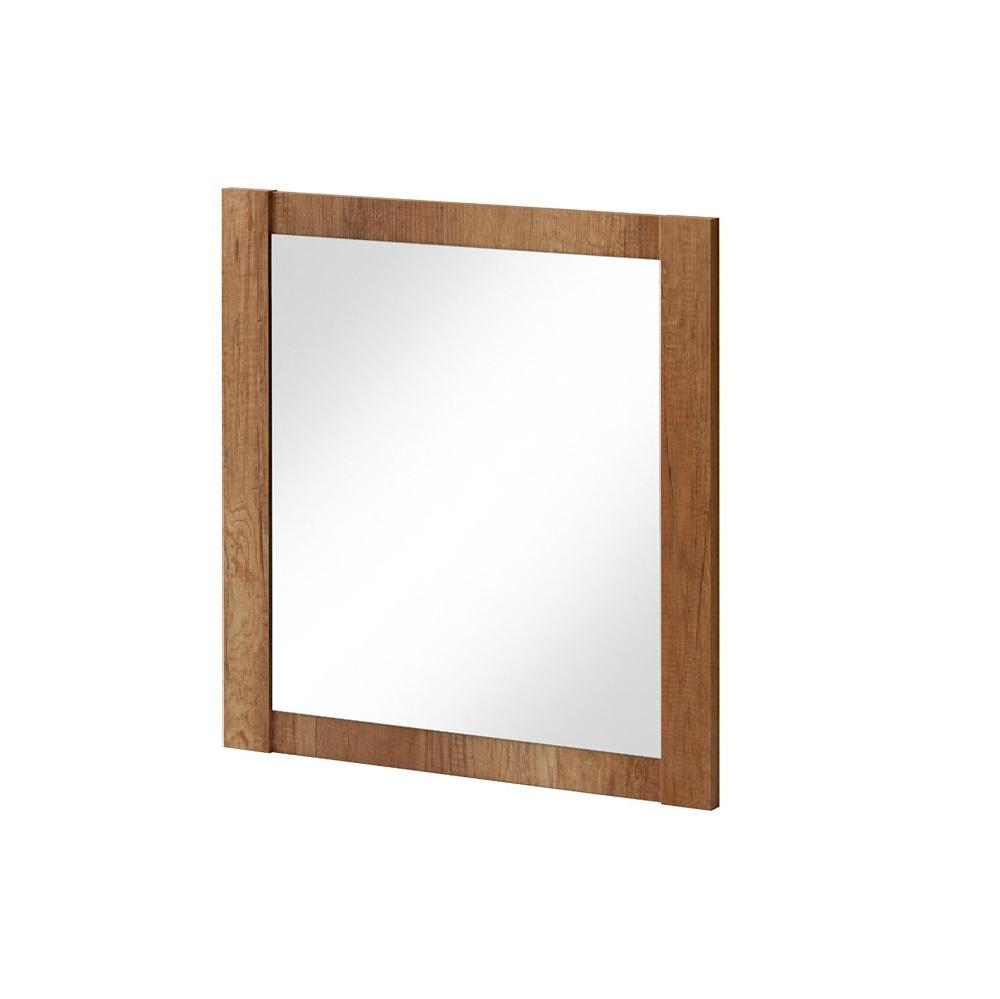 Oglinda pentru baie, L80xl80 cm, Classic Oak imagine