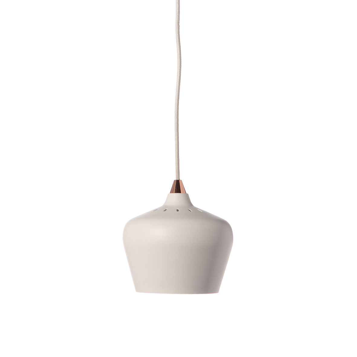 Lustra Cohen Small White Matt, Ø 16 cm
