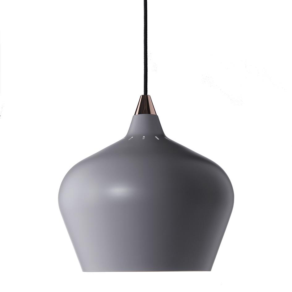 Lustra Cohen XL Grey Matt, Ø 32 cm